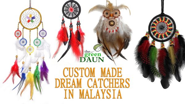 Places To Buy Dream Catchers Custom Made Dream Catchers in Malaysia Green Daun 29