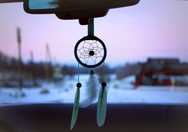 Dream Catcher For Cars Green Daun Delectable Dream Catcher To Hang In Car