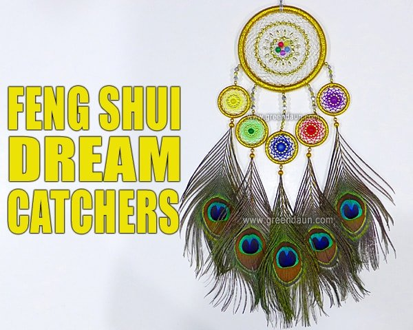 Feng Shui Dream Catchers Green Daun Simple What Are Dream Catchers