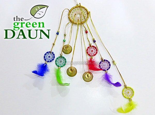 Feng Shui Dream Catchers - Green Daun