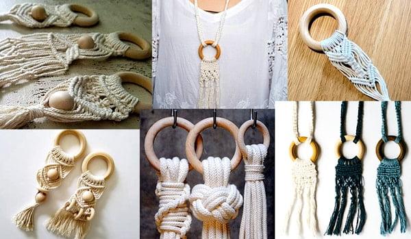 Where To Buy Wooden Rings For Macrame In Malaysia Green Daun