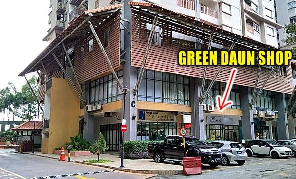Green Daun Shop Location